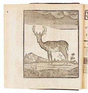 LE VERRIER DE LA CONTERIE. Venerie normande, ou l'Ecole de la chasse aux chiens courants. Rouen: 1778.