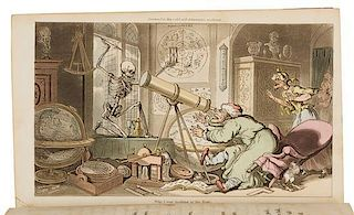 ROWLANDSON, Thomas (1756-1827), illustrator. -- William COMBE (1742-1823). The English Dance of Death. London: J. Diggens, 18