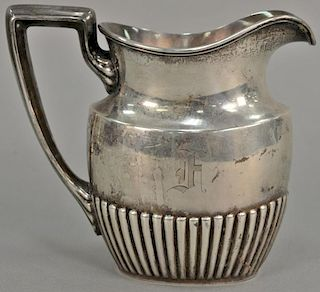 Gorham sterling silver pitcher. ht. 6 1/2in., 14.5 troy ounces  Provenance: From the Estate of Henry L. Ferguson of Bloomfiel