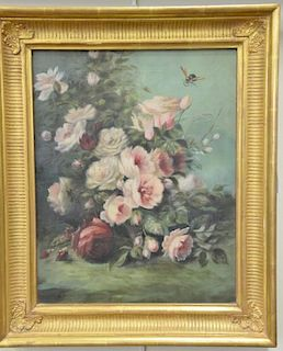 """Two contemporary still life oil on canvas paintings, one signed Clark. 20"""" x 26"""" and 16 1/2"""" x 13"""""""