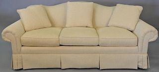 Classics Vanguard upholstered sofa (like new). wd. 85 in.