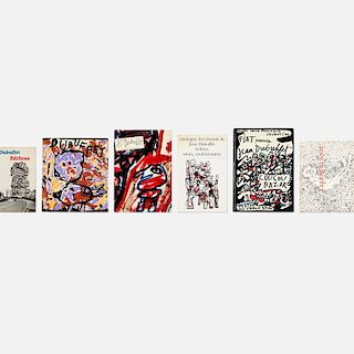 Jean Dubuffet, collection of twenty-five books