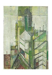 Lyonel Feininger (1871-1956)-attributed