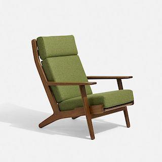 Hans J. Wegner, lounge chair, model GE290-A