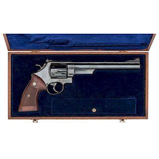 ** Cased Smith & Wesson Pre-Model 29 DA Revolver with 4 Screws