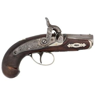 Henry Deringer Percussion Pistol Marked A.J. Taylor San Francisco