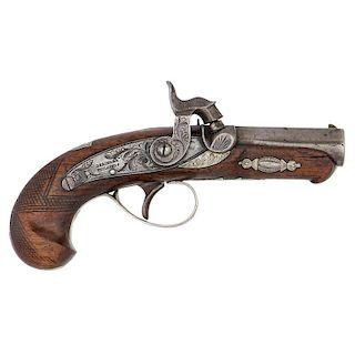 Deringer Pocket Pistol Agent Marked C.Curry San Fransico