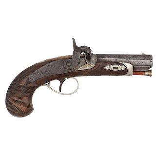 H. Deringer Percussion Pistol