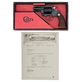 * Colt Diamondback Revolver