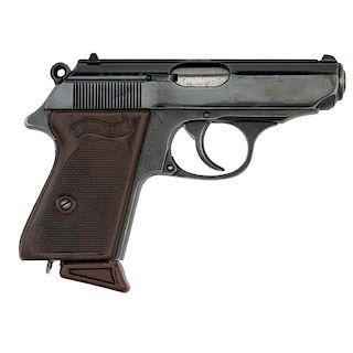 ** German Walther .22 PPK Semi-Automatic Pistol
