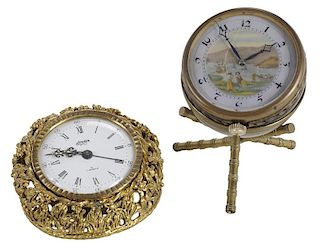Two Desk Clocks