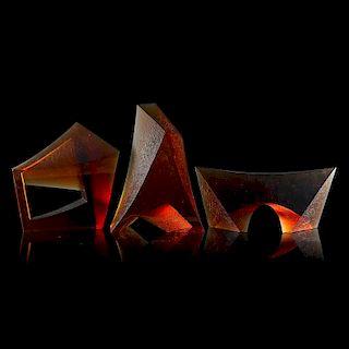 BOREK MASEK Three sculptures