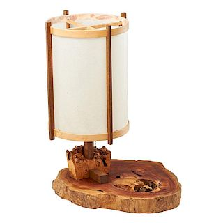 GEORGE NAKASHIMA Table lamp with base