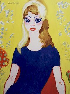"""""""Brigitte Bardot"""", poster """"Les peintres tŽmoins de leur temps"""" (""""Painters as witnesses of their time"""") - Kees van Dongen"""
