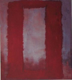 Seagram Murals, Clear on Red - Lithograph - Mark Rothko