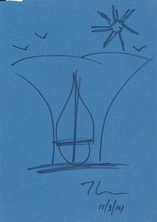 Saling Boat - Jeff Koons