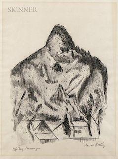 Marsden Hartley (American, 1877-1943)  Kopelberg-Oberammergau