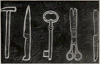 Raoul Ubac (Belgian, 1910-1985)  Les Objets Fossiles