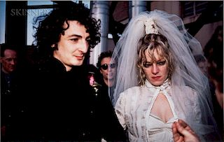 Nan Goldin (American, b. 1953)  Cookie and Vittorio's Wedding: The Ring, New York City