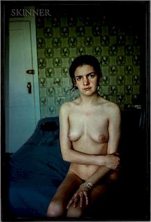 Nan Goldin (American, b. 1953)  Siobhan Nude at the A-House #2, Provincetown