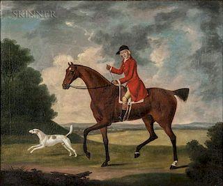 British School, 18th Century  Ready for the Hunt