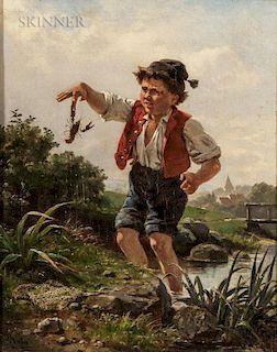 Pál (Paul) Böhm (Hungarian, 1839-1905)  A Pinch of Trouble