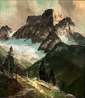 John Fery (American, 1859-1934)  Mountain Pass
