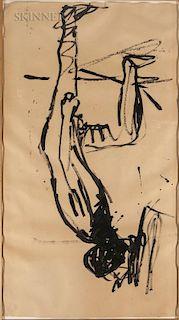 Georg Baselitz (German, b. 1938)  Untitled