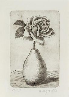 Rene Magritte, (Belgian, 1898-1967), Poire et Rose