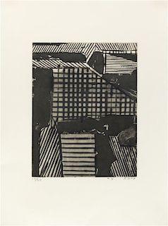Richard Diebenkorn, (American, 1922-1993), Five Aquatints with Drypoint: #3, 1978