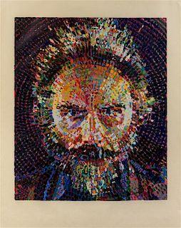 Chuck Close, (American, b. 1940), Lucas, 1993