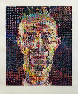 Chuck Close, (American, b. 1940), Alex, 1992