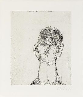 * George Baselitz, (German, b. 1938), Idol, 1963