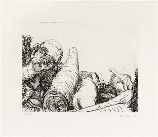 * George Baselitz, (German, b. 1938), Ohne Titel, 1964