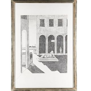 Giorgio de Chirico, print