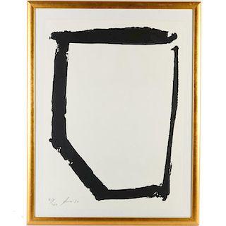 Richard Serra, print