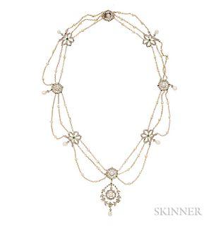 Edwardian Festoon Necklace