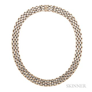 "18kt Bicolor Gold ""Panthere"" Necklace, Cartier"