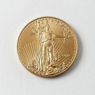 2010 $50 1 Oz. American Eagle Gold Coin