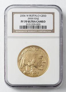 2006 $50 1 Oz. Buffalo Gold Coin