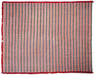 South Central Pennsylvania Overshot Woven Coverlet
