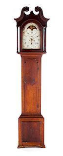 Elisha Kirk York Eight Day Tall Case Clock
