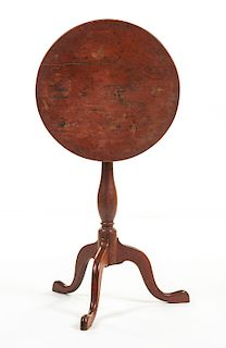 Country Late Chippendale Candle Stand