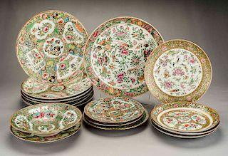 16 Pcs Chinese Export Porcelain