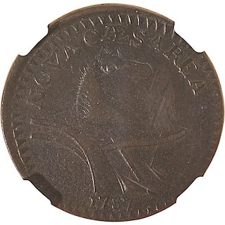 U.S. 1787 NEW JERSEY 1C COIN