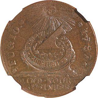 U.S. 1787 FUGIO 1C COIN