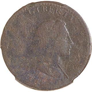 U.S. 1793 LIBERTY CAP 1C COIN