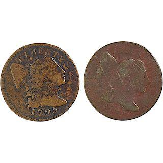 U.S. 1795 LIBERTY CAP 1C COINS