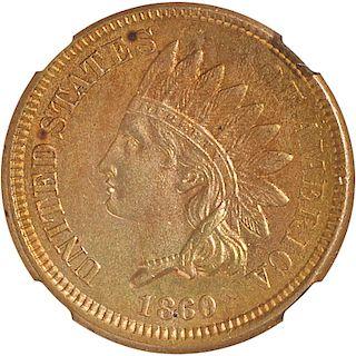 U.S. 1860 INDIAN HEAD 1C COIN