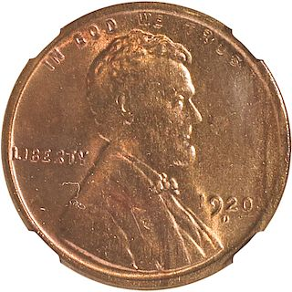 U.S. 1920-D LINCOLN 1C COIN